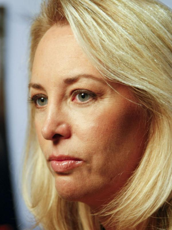 Valerie Plame Wilson attends the 2010 AFI DC Labor FilmFest screening of the movie <em>Fair Game</em> at the AFI Silver Theatre and Cultural Center Silver Spring, Md.