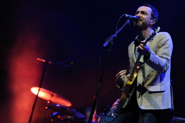 James Mercer performs with The Shins on April 14 at Coachella.