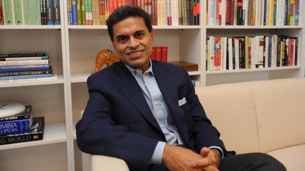 Fareed Zakaria.