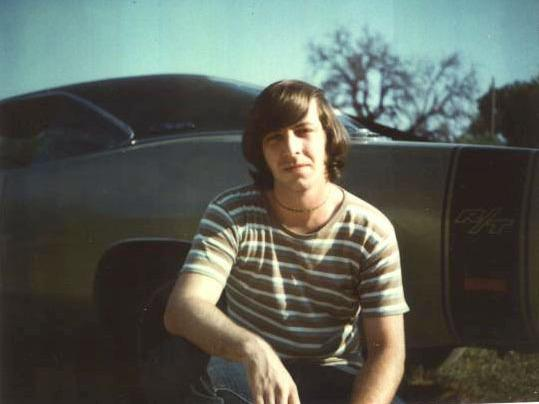 Philip McClinton in 1972, the year he met Susan.