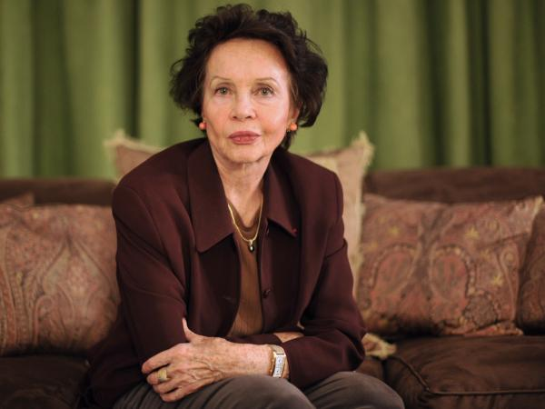 Leslie Caron, shown here in her Paris apartment in 2010, has appeared in more than 40 films.
