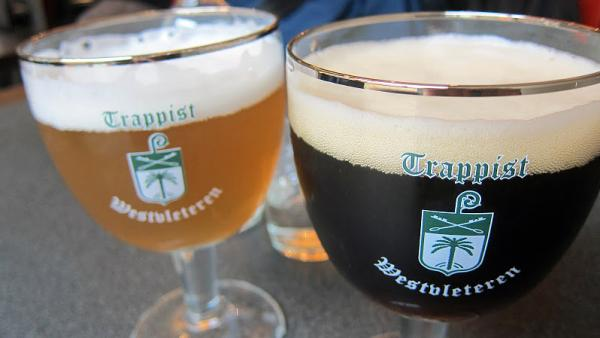 Beers made by Trappist monks at St. Sixtus Abbey's Westvleteren Brewery in Belgium are sought by connoisseurs. For the first time, the monks are exporting the beer overseas, including to the U.S.