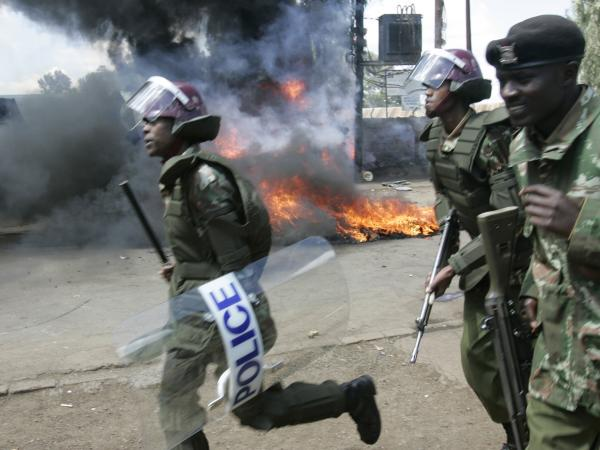 Widespread protests erupted in Kenya after the presidential election in 2007. More than 1,000 people were killed.