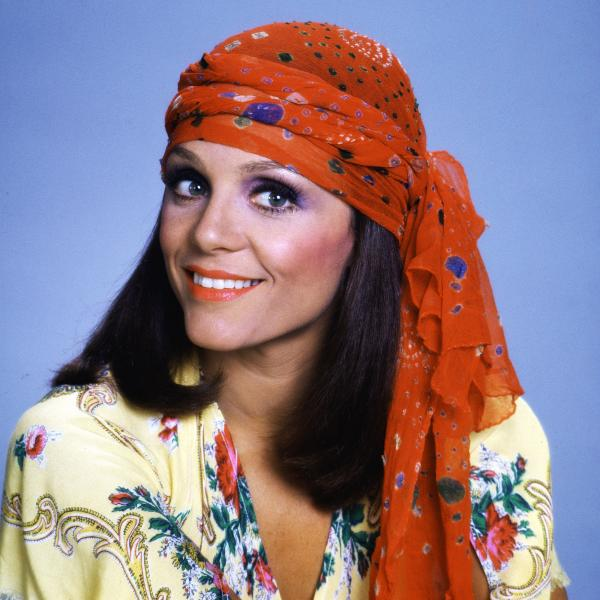 "Actress Valerie Harper, when she was ""Rhoda,"" in the early 1970s."