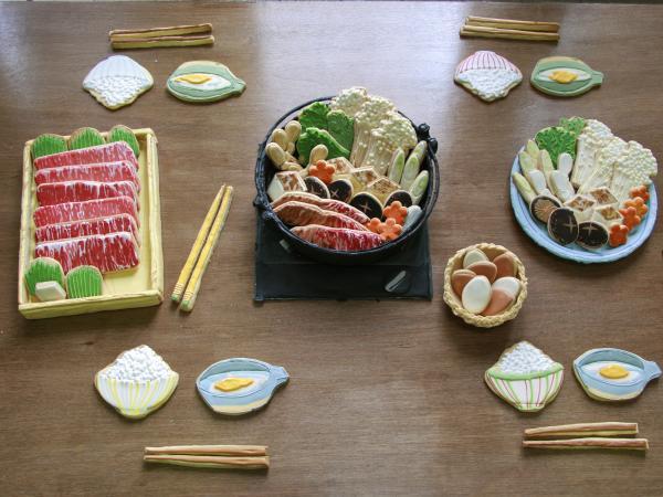 Sukiyaki cookies