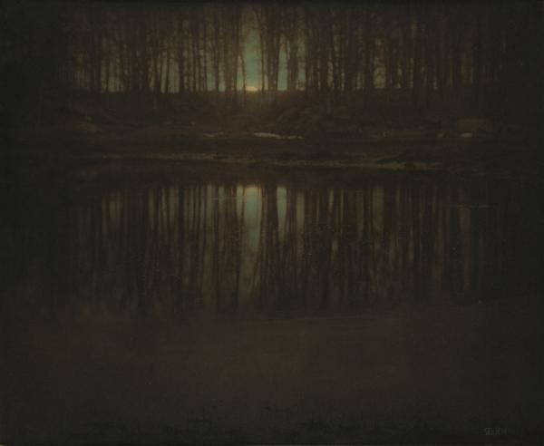 <em>The Pond — Moonrise</em>, 1904 (Edward Steichen)<strong><br /></strong>