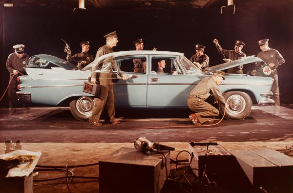 <em>Advertisement for Texaco Inc.</em>, 1957 (Ralph Bartholomew Jr.)<strong><br /></strong>