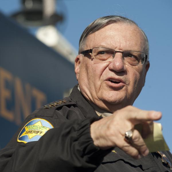 Maricopa County (Ariz.) Sheriff Joe Arpaio.