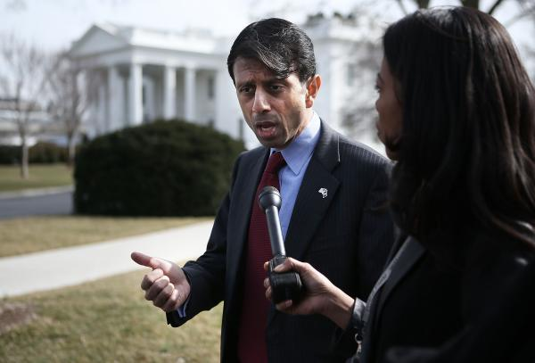 Louisiana Gov. Bobby Jindal, who has been a proponent of school vouchers.