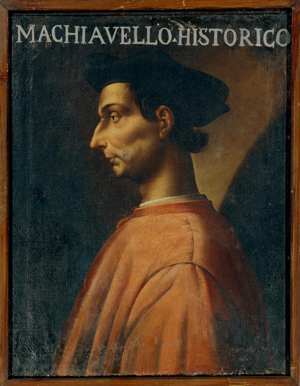 A portrait of Italian philosopher, writer and politician Niccolo Machiavelli (Florence, 1469-1527) by Antonio Maria Crespi. Half a millennium after he wrote <em>The Prince</em>, the slim volume continues to play an important role in political thought and evoke strong response.