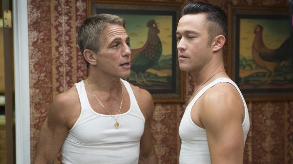 Tony Danza and Joseph Gordon-Levitt in <em>Don Jon</em>.