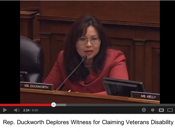 Tammy Duckworth questions an IRS commissioner.