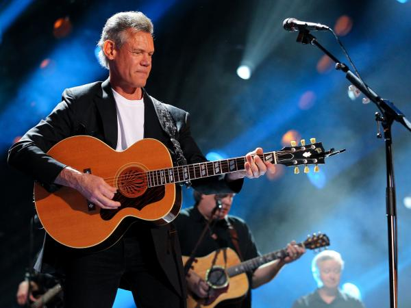 Country singer Randy Travis at the CMA Music Festival in Nashville on June 7.