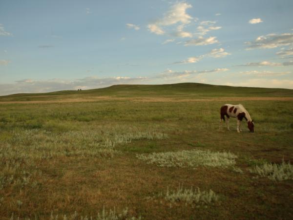 Pine Ridge Indian Reservation, South Dakota.