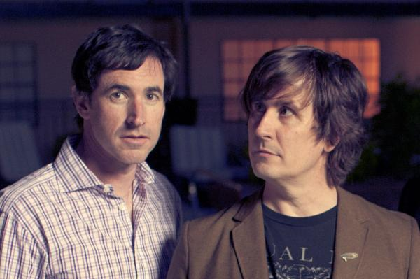 Peter Hughes (left) and John Darnielle of The Mountain Goats.
