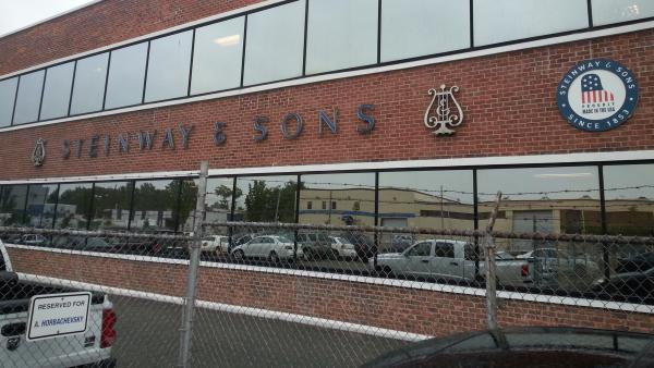 The Steinway Musical Instruments factory in Queens, N.Y.