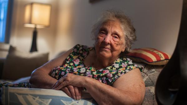 Billie Iverson, 86, of Cranston, R.I., recently underwent a transplant of intestinal microbes that likely saved her life.