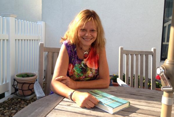 """Joyce Maynard is re-releasing her memoir """"At Home in the World."""" (Rachel Rohr/Here & Now)"""