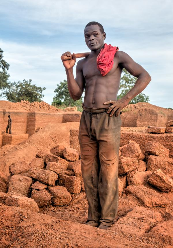Photos excerpted from <em>Karaba Brick Quarry,</em> Burkina Faso