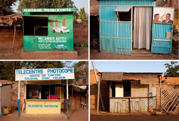 A mini-typology of kiosks in Burkina Faso villages