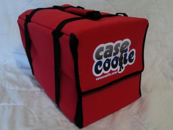 The Case Coolie weighs 1.5 pounds and promises to keep beverages cold for 10 hours.