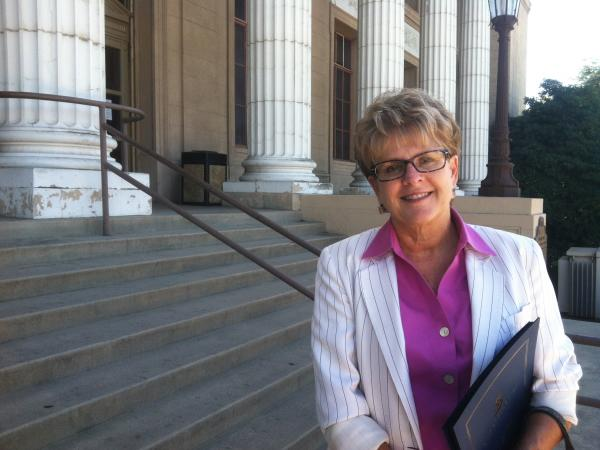 Councilwoman Katherine Miller believes Stockton is through the worst of its financial troubles.