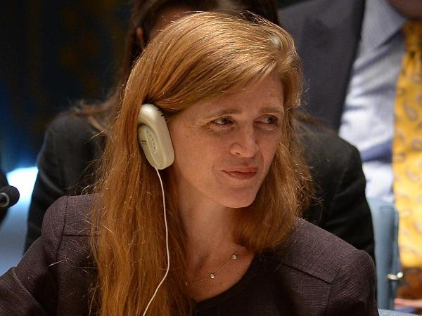Samantha Power, the U.S. ambassador to the U.N., called military action in Syria legitimate and necessary.