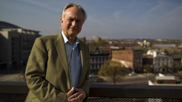 Author and evolutionary biologist Richard Dawkins made a March 2012 visit to NPR headquarters in Washington, D.C.