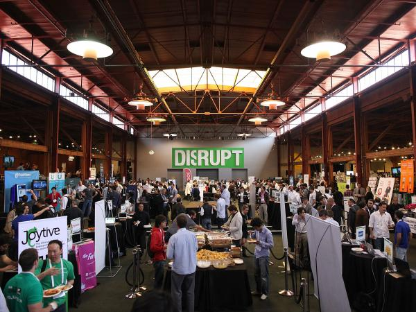 TechCrunch's Disrupt 2012 conference in San Francisco. This year, two hackathon presentations ignited a firestorm.