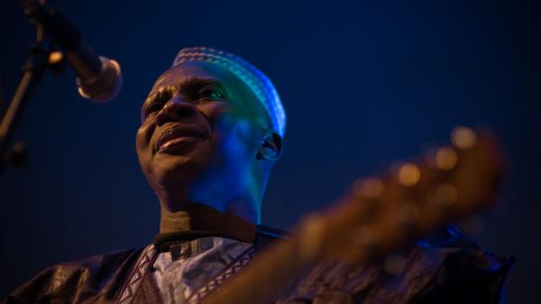 Sidi Touré's new album, <em>Alafia</em>, is his third international release.