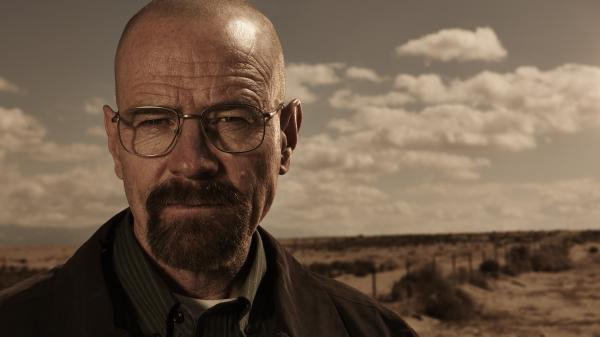 Bryan Cranston as Walter White on AMC's <em>Breaking Bad</em>.