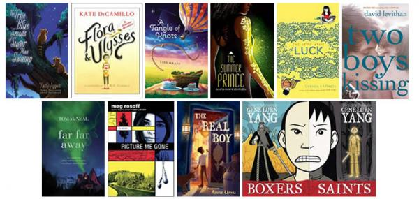 "The 2013 National Book Award long list for Young People's Literature was announced Monday. <a href=""http://www.nationalbook.org/nba2013.html#.UjdoS9KYP5w"">Click here to see the full list</a>."