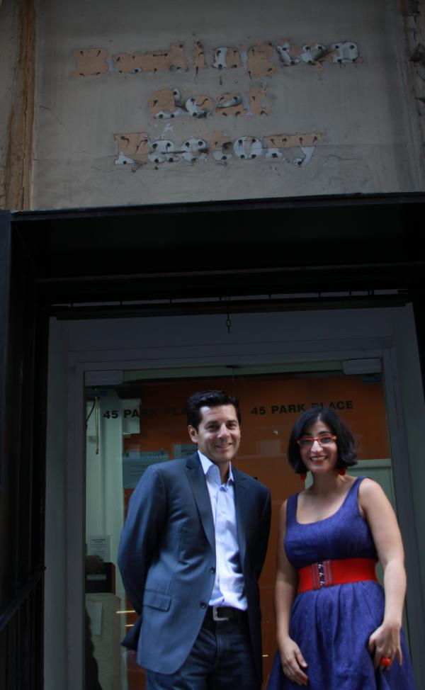 Dean Obeidallah and Negin Farsad, co-directors of <em>The Muslims Are Coming! </em>