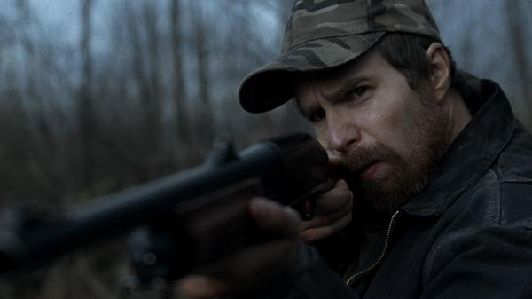 Sam Rockwell plays John Moon, an unemployed farmer who launches a series of unfortunate and bloody events after he mistakenly shoots a woman while hunting a deer.
