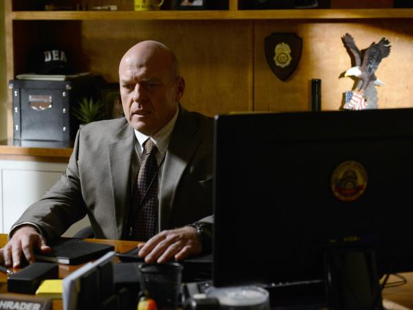 <em>Breaking Bad,</em> on which Dean Norris played DEA agent Hank Schrader, has two more episodes to go before its series finale.