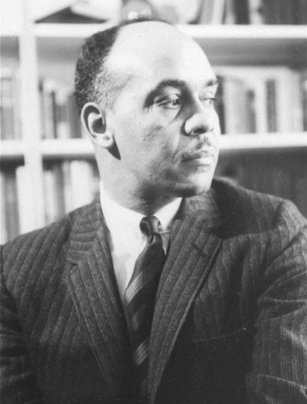 Novelist Ralph Ellison, seen in Feb. 15, 1964.