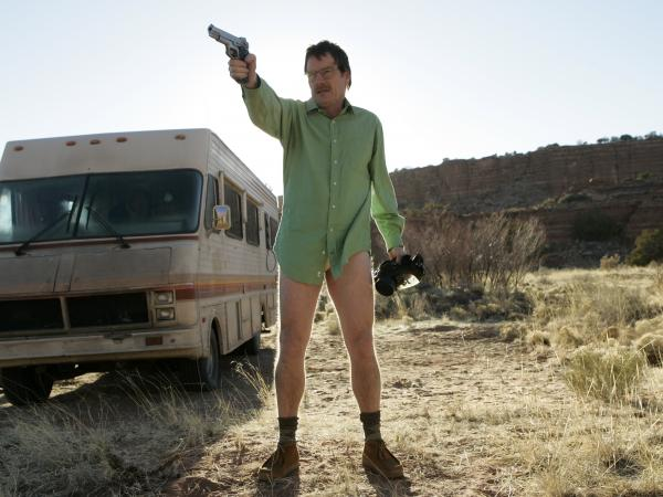 "How could you not feel sorry for this guy? Vince Gilligan even admitted that he loaded up the <em>Breaking Bad</em> pilot with ""reasons to give a damn about"" Walter White."
