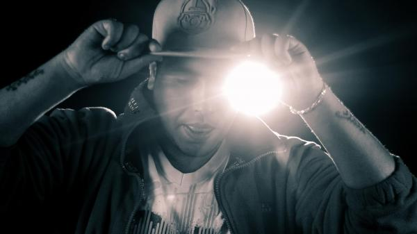 Tunisian rapper Klay BBJ in an image from his Facebook page.