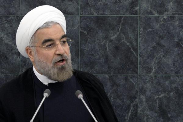 Hasan Rouhani, President of the Islamic Republic of Iran, addresses the 68th United Nations General Assembly at UN headquarters, on Tuesday.