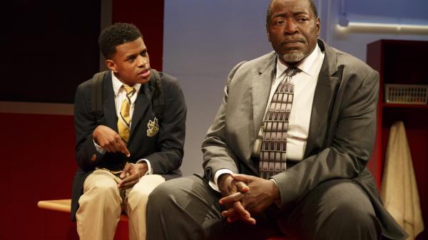 "Jeremy Pope and Chuck Cooper were pupil and principal in <em>Choir Boy</em> at Manhattan Theatre Club this summer. The play is among the work that led to today's recognition of playwright Tarell Alvin McCraney by the MacArthur Foundation, which hands out a raft of so-called ""genius grants"" each year."
