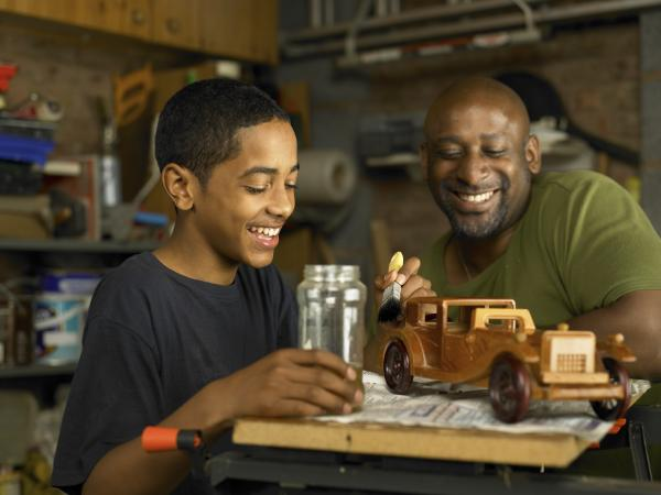 """""""Nice job on the model car, son. But remember it has to be twice as good. Start over."""""""