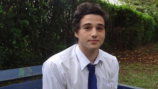 Zachary Yach and four others in the popular ArtCaffe survived the attack. (BBC)