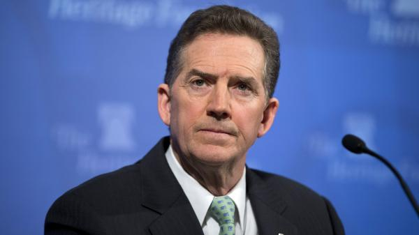 Jim DeMint, president of the Heritage Foundation, says he has more influence now than he did as a senator.