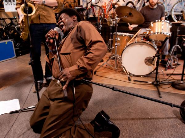 Charles Bradley recently performed a session for KEXP from Mellow Johnny's Bike Shop in Austin, Texas.