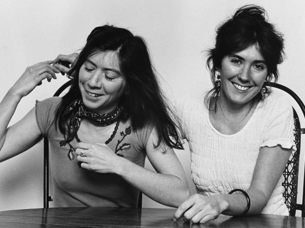 Kate (right) and Anna McGarrigle