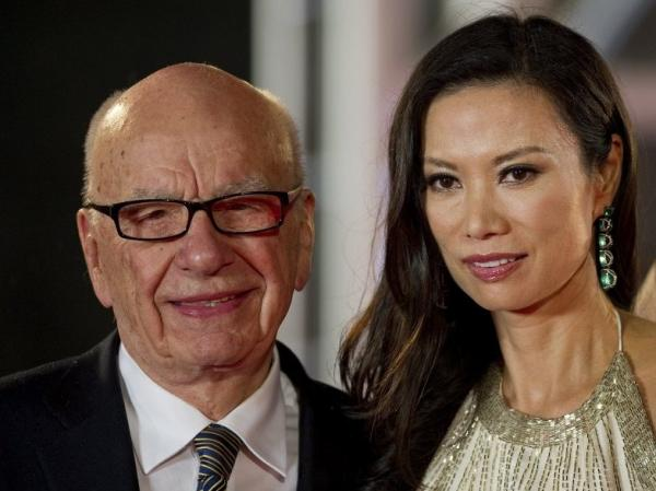 June 11, 2011, file photo: Rupert and Wendi Deng Murdoch at the Shanghai International Film Festival.