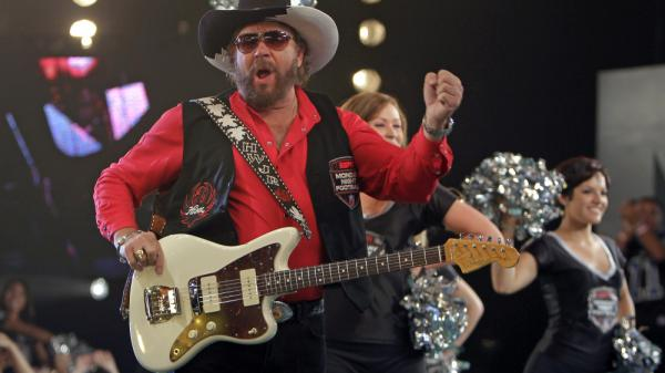 <p>Hank Williams Jr., here seen promoting <em>Monday Night Football</em>.</p>