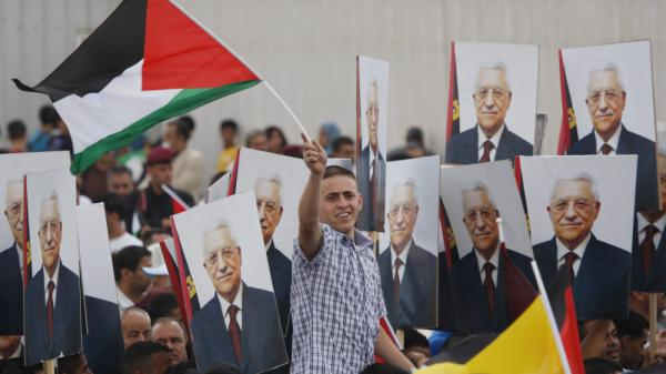 <p>Palestinians gave President Mahmoud Abbas a hero's welcome last month after he called for Palestinian statehood at the U.N. But the U.S. has since frozen some assistance, which is hitting Palestinian development projects. </p>