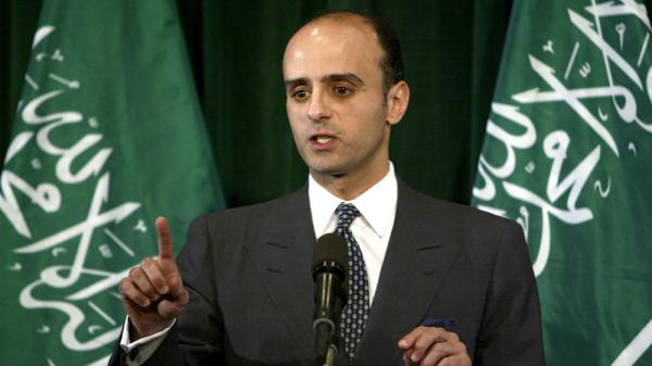 <p>Adel al-Jubeir, shown in this 2004 photo, is Saudi Arabia's ambassador to the U.S. and was the target of an Iranian assassination plot, according to the U.S. government.</p>