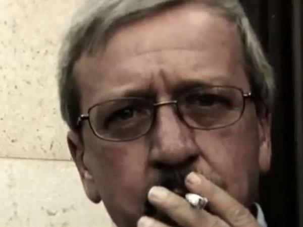 <p>A new ad from Herman Cain features his campaign manager, Mark Block, taking a drag from a cigarette. </p>